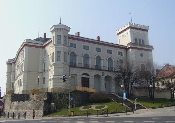 Zamek książąt Sułkowskich na Starym Mieście w Bielsku-Białej