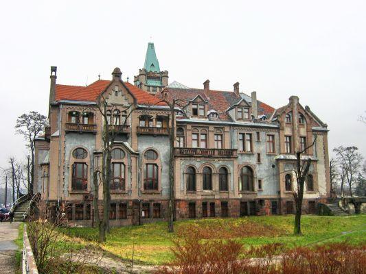 Pałac Schöna w centrum Sosnowca