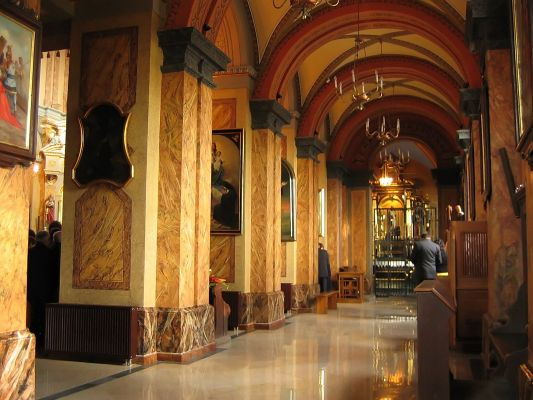 Wnętrze kościoła św. Antoniego, Dąbrowa Górnicza
