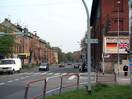 Katowice Załęże - ul. Gliwicka i Wiśniowa