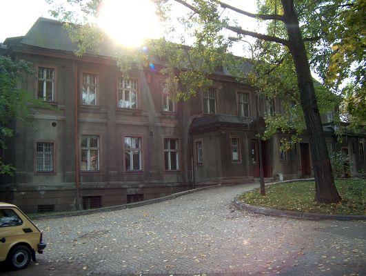 Pałac w Załężu przy Gliwickiej 159