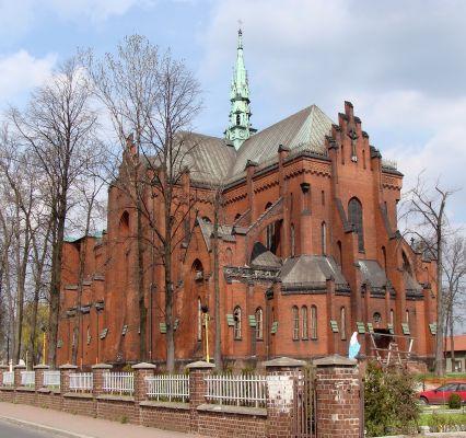 Dąbrowa Górnicza - Strzemieszyce Wielkie - Kościół p.w. Najświętszego Serca Pana Jezusa