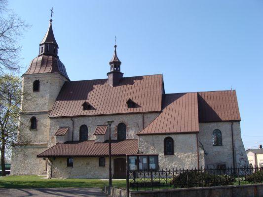 Kościół pw. św. Marcina w Wojkowicach Kościelnych