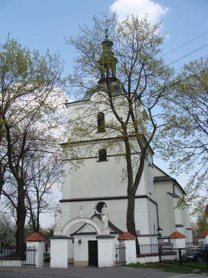 Sławków - kościół Podwyższenia Krzyża Świętego
