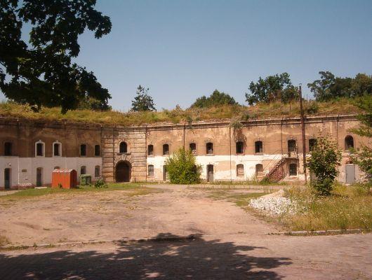 Bastion św. Jadwigi przed renowacją