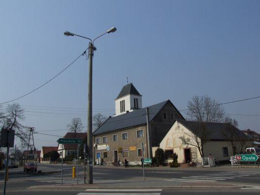 Komprachcice - centrum wsi