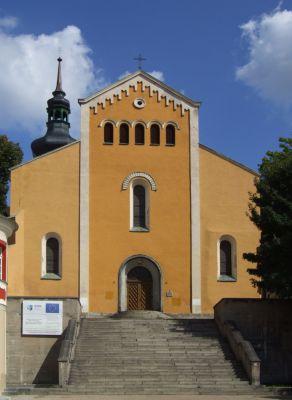 """Kościół Matki Boskiej Bolesnej i św. Wojciecha (""""na górce"""") w Opolu"""
