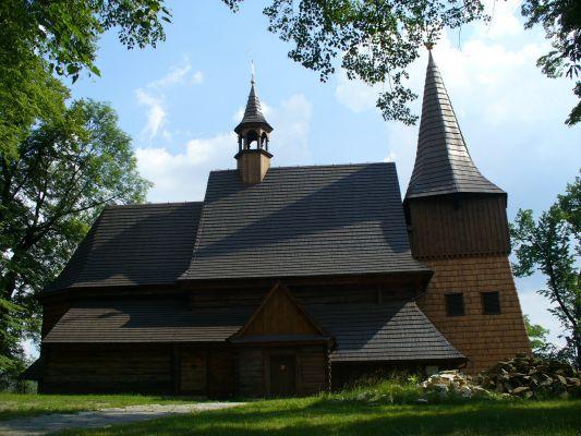 Zernitz - Żernica. Kościół drewniany z XVII w.