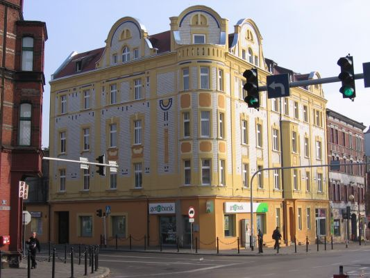 Szarlej - kamienica przy ul. Bytomskiej