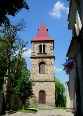 Dzwonnica kościoła św. Władysława w Kunowie