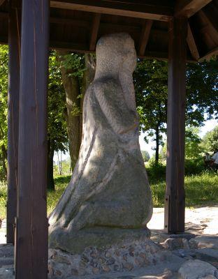Kamienny pielgrzym w Nowej Słupi