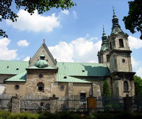 Klasztor w Jędrzejowie - kościół bł. Wincentego Kadłubka