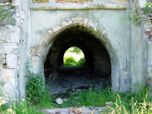 Ruiny zamku w Ćmielowie