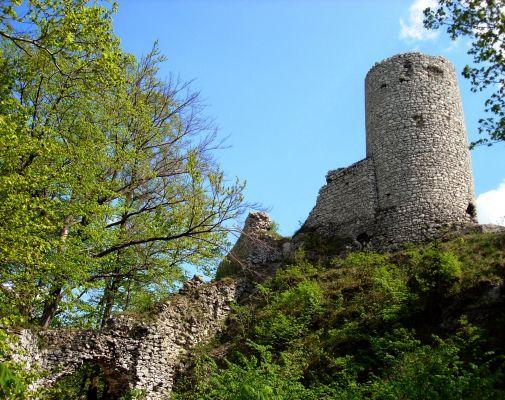Ruiny zamku w Smoleniu