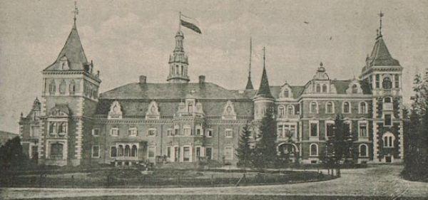 Pałac w Krowiarkach w 1908