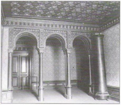 Sala Mauretańska z 1965 roku. Pałac w Krowiarkach.
