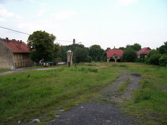 Strzybnik - XIX-wieczna wieża zegarowa.