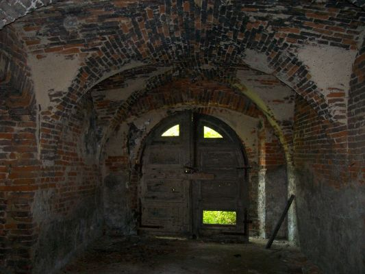 Wnętrze pałacu w Brzeźnicy