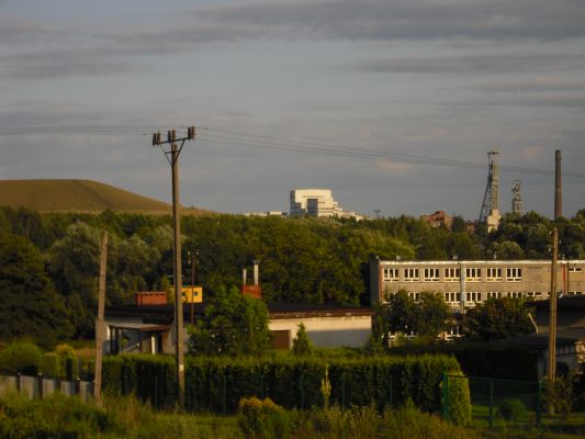 """Kopalnia """"Murcki"""", Rejon Boże Dary i hałda w Kostuchnie"""
