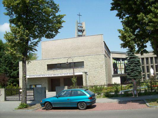 Kościół pw.NajświętszegoSerca Pana Jezusa i św. Jana Bosco w Katowicach Piotrowicach