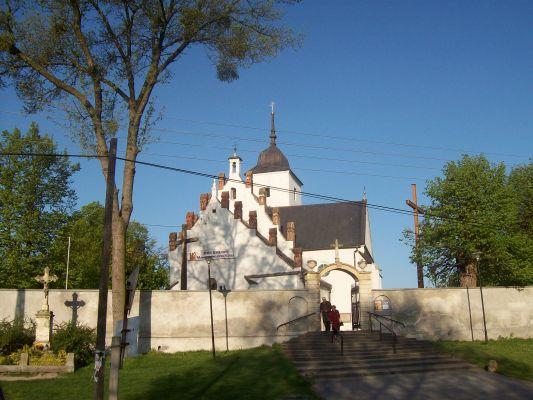 Kościół  św. Jana Chrzciciela we Włostowie