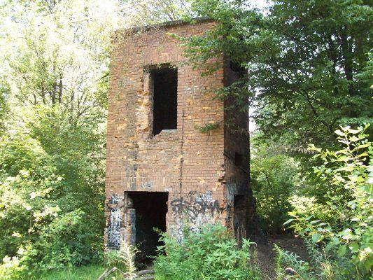 Ruiny młyna nad Ślepiotką,Katowice Piotrowice