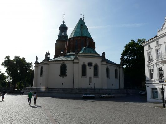 Archikatedra Gnieźnieńska - tył