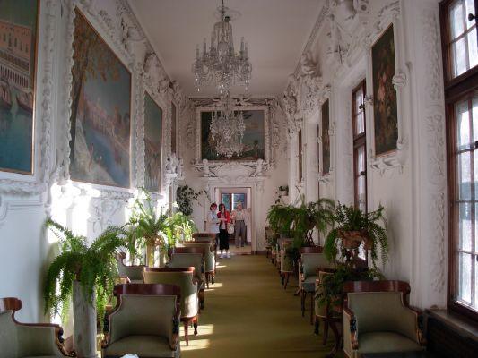 Zamek w Baranowie Sandomierskim - wnętrze