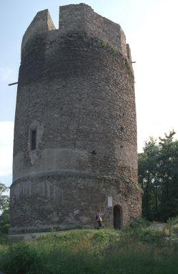 Zamek w Czchowie - wieża