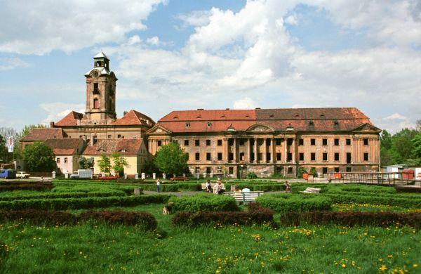 Żary, zamek Bibersteinów i pałac Promnitzów