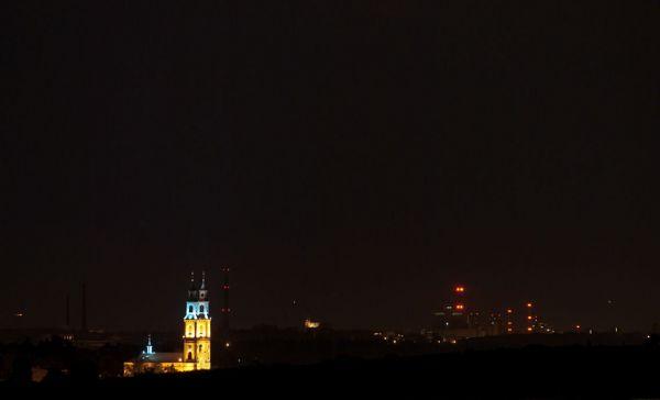 Bazylika nocą