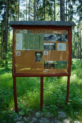 Las Pasieki - ścieżka rowerowa