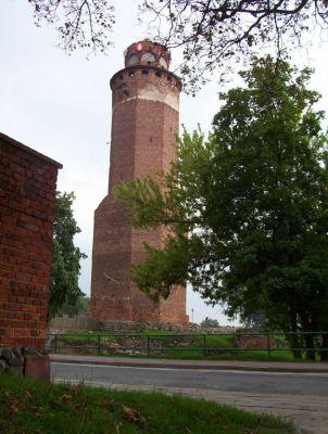 Zamek Krzyżacki w Brodnicy - wieża zamkowa
