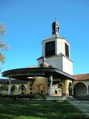 Klasztor w Górce Klasztornej - dzwonnica