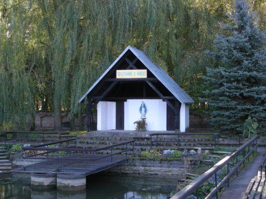 """Klasztor w Górce Klasztornej - """"Scena na wodzie"""""""