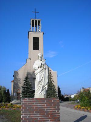 Kościół katedralny Św.Krzyża w Strzebiniu