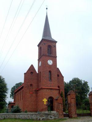 Kościół p.w. podwyższenia Krzyża Świętego w Starej Łubiance