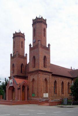 Kościół p.w. św. Katarzyny Aleksandryjskiej w Krokowej