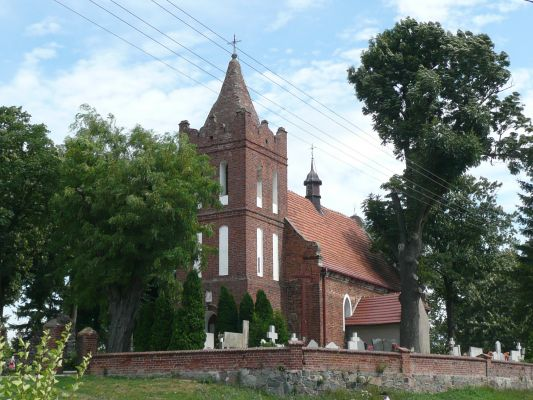 Kościół pw. św. Mikołaja we wsi Gronowo