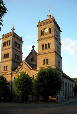 Kościół pw. św.Piotra i Pawła w Szamocinie