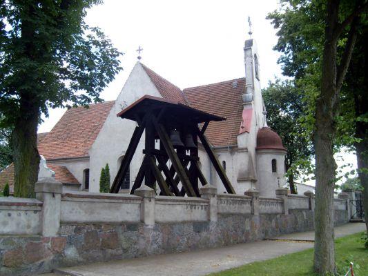 Kościół pw. św. Wawrzyńca we wsi Mąkowarsko
