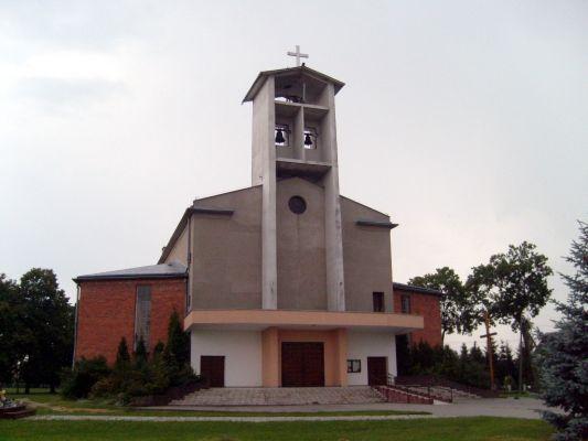 Kościół pw. Trójcy Świętej we wsi Pruszcz