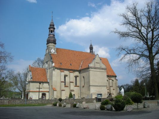 Kościół we wsi Byszewo, woj. kujawsko-pomorskie