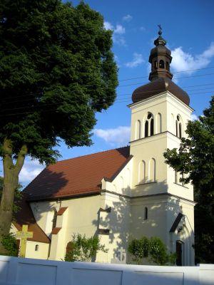 Kościół we wsi Czeszewo, woj. wielkopolskie, pow. wągrowiecki