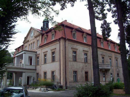 XVII-wieczny pałac rodziny von Nostitz w Niwinicach