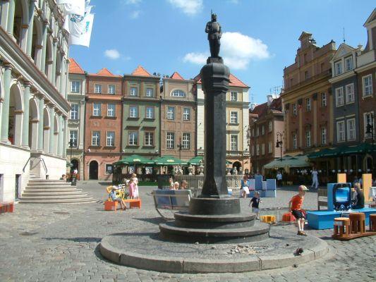 Pręgierz na Starym Rynku w Poznaniu