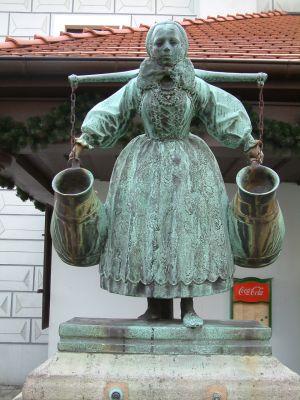 Studzienka Bamberki na Starym Rynku w Poznaniu
