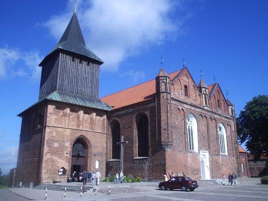 Gotycki kościół pw. Św. Jana w Malborku
