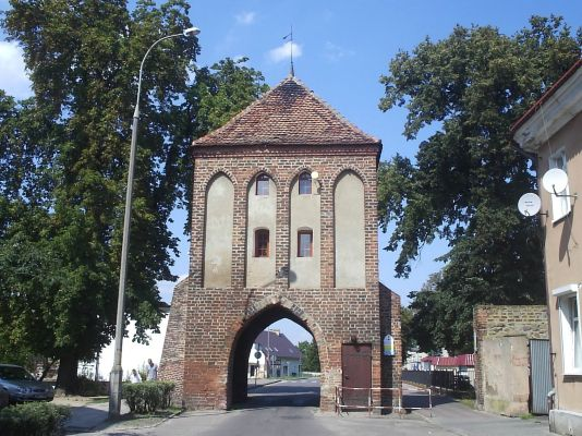 Myślibórz - gotycka Brama Pyrzycka