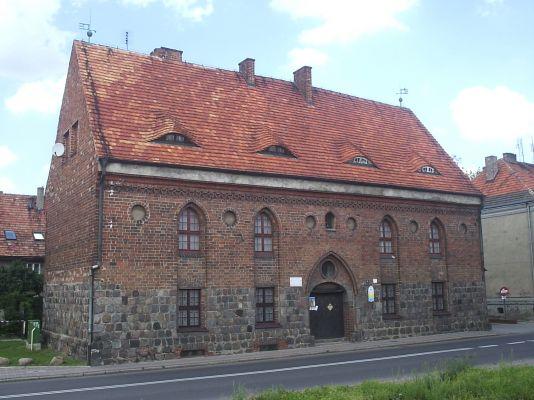 Myślibórz - gotycka kaplica św. Ducha, obecnie Muzeum
